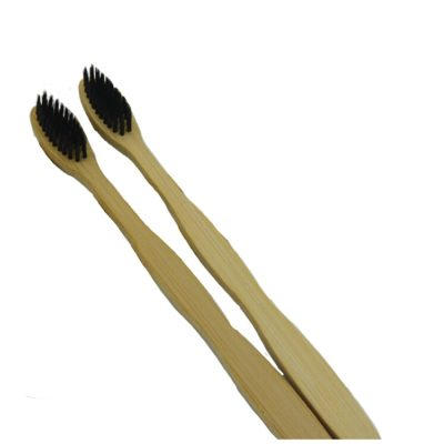 Set of 2 bamboo toothbrush